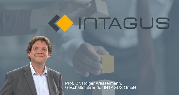 Prof. Dr. Holger Wassermann, Geschäftsführer der INTAGUS GmbH
