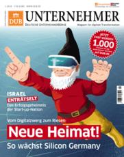 Inhalte im neuen DUB Unternehmer-Magazin Ausgabe 1 2018