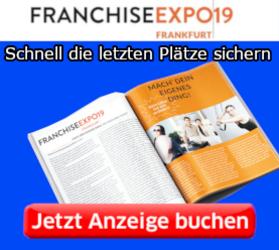 Anzeige buchen im offiziellen Messeheft der Franchise Expo 2019