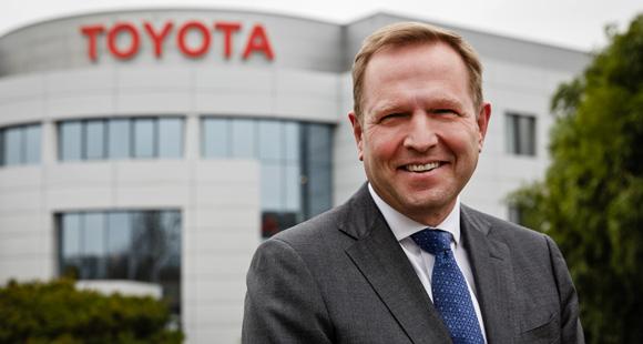Alain Uyttenhover: Seit Anfang des Jahres ist der 56-Jährige Geschäftsführer und Präsident der Toyota Deutschland GmbH