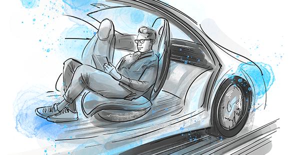 Autonomes Fahren: Wettbewerber in Sachen Reiseerlebnis auf der Kurzstrecke.