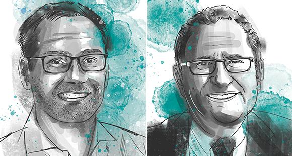 Christophe Hocquet ist seit 2015 CEO der Brille24 Group und forciert in dieser Funktion die Transformation vom Online-Händler zum Tech-Unternehmen. Jorge Marx Gómez ist Professor für Wirtschaftsinformatik an der Carl von Ossietzky Universität Oldenburg und wissenschaftlicher Leiter im OFFIS, dem Oldenburger An-Institut für Informatik