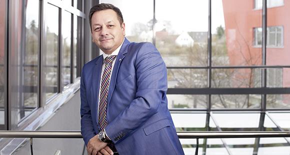 Dietmar Nick ist Geschäftsführer bei Kyocera Document Solutions