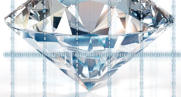 Die Blockchain belegt die Herkunft von Diamanten