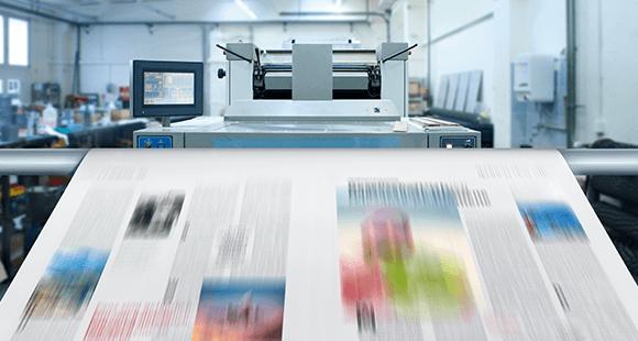 Auf Masse: Digitaldruck erlaubt Auflagen im großindustriellen Ausmaß.