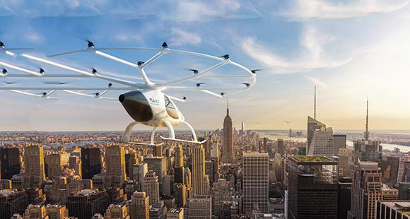 Volocopter: Das deutsche Start-up absolvierte bereits erste Testflüge