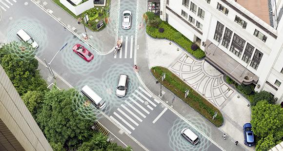 Autos als Schnittstelle: Zukünftig sind Fahrzeuge vernetzt