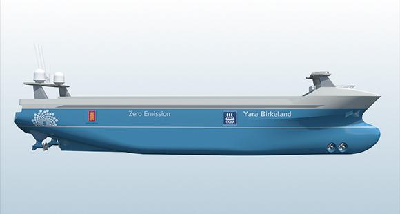 """Captain KI: Die """"Yara Birkeland"""" soll schon bald autonom und emissionsfrei die Meere durchkreuzen"""