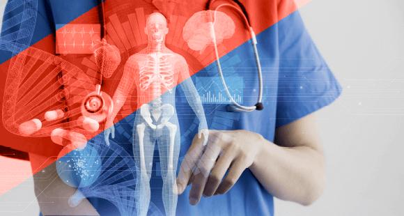 Mit wenigen Klicks in der elektronischen Patientenakte kennt der Arzt die gesamte Krankengeschichte