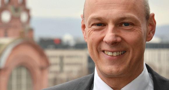 Frank Gäfgen ist Geschäftsführer der ESWE Verkehrsgesellschaft mbH