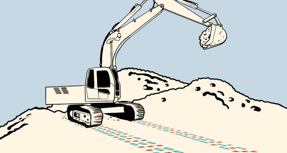 Wertet man die Daten von Baumaschinen zielgerichtet aus, lassen sich Prozesse optimieren
