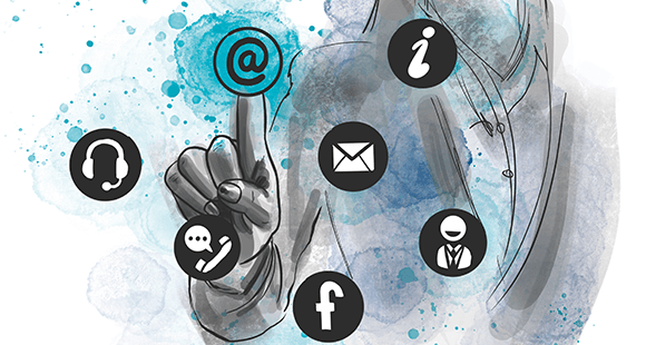 Viele Wege, ein Ziel: Kunden erwarten über alle Kanäle den gleichen Service