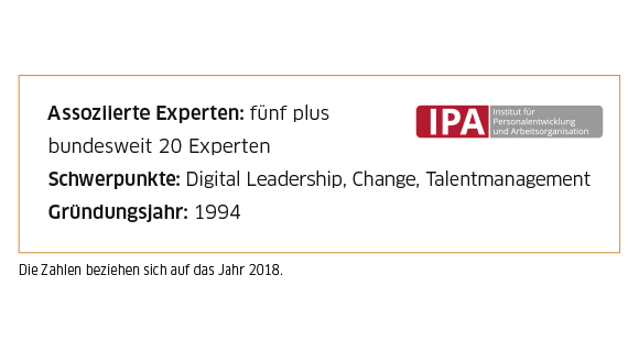 IPA Consulting in Zahlen