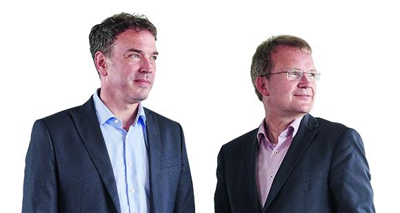 Blick in die Zukunft David Stachon (l.) und Jens Baas gelten als Vordenker ihrer Branchen