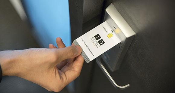 Kundenkarten oder RFID-Karten als Zutrittssystem