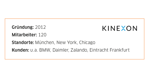 Kinexon Unternehmensdaten