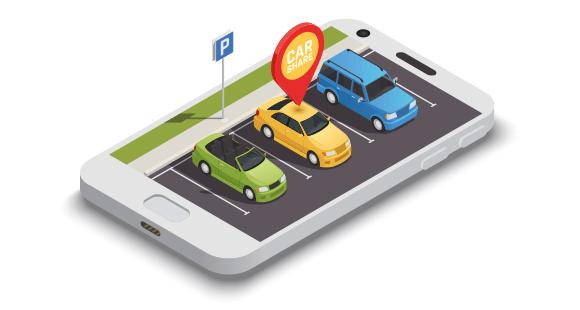 App-Grade: Moderner Verkehr bedeutet Teilen, etwa der Autos