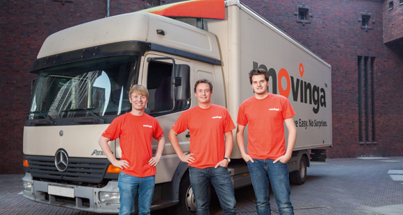 Anpacker: Bastian Knutzen, Finn Hänsel, Chris Maslowski (v. l.)