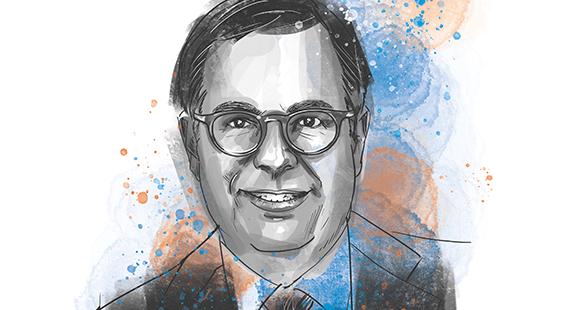 Dr. Norbert Rollinger ist seit 2017 Vorstandsvorsitzender der R+V Versicherung AG.