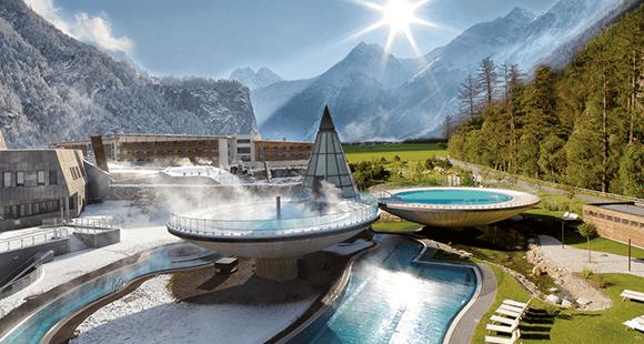 Aqua Dome: Besticht durch ein regional authentisches Wohn- und Wohlgefühl.