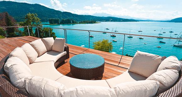 Lake's my lake: Verbindet gehobenen Lifestyle mit entspannter Kultiviertheit