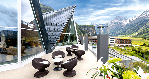 Aqua Dome: Ein himmlischer Ort zum Entspannen.