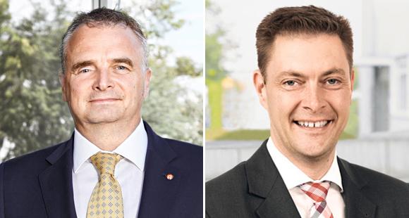 Erfolgreiche Digitalisierer: Paul Cleaver (links) und Frank Theilen (rechts) setzen bei Aventics innovative Lösungen um