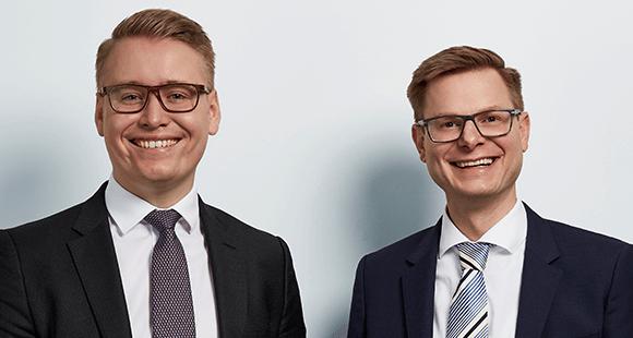 Finexity : Paul-Maria Hülsmann und Henning Wagner wollen mit ihrem Start-up ein Immobilien-Shopping-Portal für Kleinanleger bieten