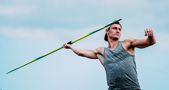 Großer Wurf: Im vergangenen Jahr war Speerwerfer Thomas Röhler kurzzeitig Weltrekordhalter.
