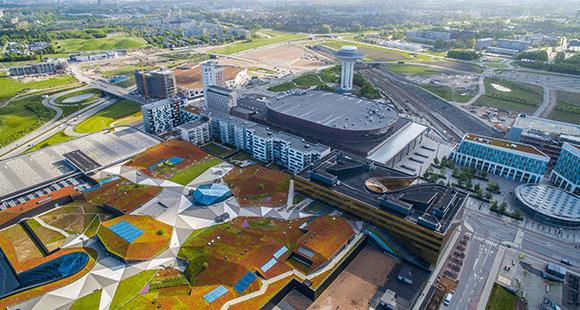 Hyllie: Das Viertel in Malmö setzt voll auf Nachhaltigkeit