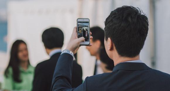 Smartphone auf Firmenkosten