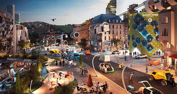 Smartes Stuttgart: So sieht Marianne Reeb die Stadt in knapp 20 Jahren – leise, emissionsfrei, digital, autonom