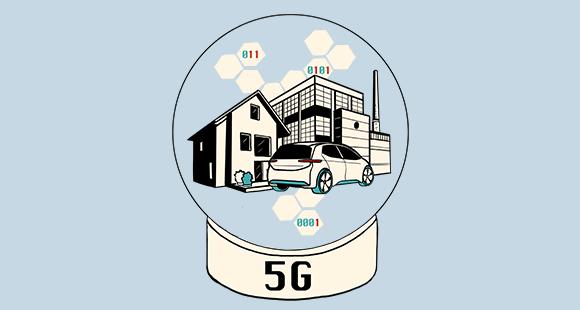 Gut verbunden: Wenn der neue Mobilfunkstandard 5G kommt, wird alles vernetzt, was vernetzt werden kann