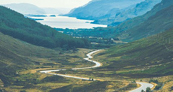 Durch raue Landschaften: The Great Mile führt die Teilnehmer quer durchs Vereinigte Königreich.