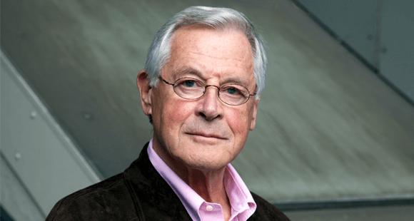 """Theo Sommer ist Journalist und Historiker, war Chefredakteur und später Herausgeber der Wochenzeitung """"Die Zeit"""""""