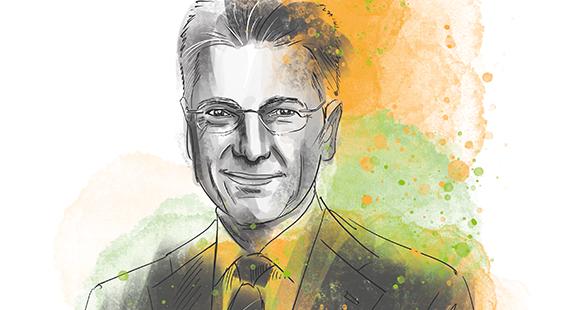 Dr. Elmar Degenhart ist Vorstandsvorsitzender des Dax-Unternehmens. Im September hat der Aufsichtsrat seine 2019 auslaufende zweite Amtszeit um weitere fünf Jahre bis 2024 verlängert.