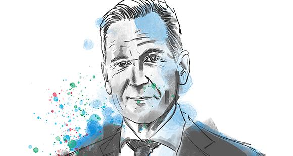 """Mathias Döpfner ist seit 2002 Vorstandsvorsitzender von Axel Springer. Als Musikkritiker bei der """"FAZ"""" gestartet, gelangte er über Gruner+Jahr zum Axel Springer Verlag. Seit 2000 sitzt er in dessen Vorstand"""