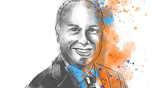 Nick Jue ist seit Sommer 2017 Vorstandsvorsitzender der ING in Deutschland. Der Niederländer vereint Marketing-Expertise mit Neugier. Jue schaut sich regelmäßig bei BigTechs um und hinterfragt Dinge immer wieder.