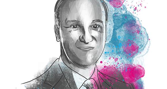 Peter Vullinghs ist Vorsitzender der Geschäftsführung der Philips GmbH. Der Niederländer erkennt die Vorteile der Digitalisierung allein schon in den Möglichkeiten der Kommunikation