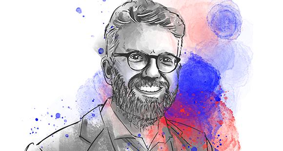 """Dr. Tim Thabe ist creditshelf-Mitgründer und Vorstandsvor-sitzender. Nach einem Jahrzehnt Unternehmenskundengeschäft bei UBS und Goldman Sachs hat er seine """"digitale Alternative"""" jüngst an die Börse gebracht."""