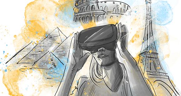 Kann Virtual Reality das Vor-Ort-Erlebnis ersetzen? Eine der zentralen Fragen mit Blick auf die Zukunft der Reisebranche.