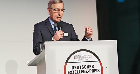 Wolfgang Clement: Der Bundesminister a. D. ist Schirmherr des Deutschen Exzellenz-Preises