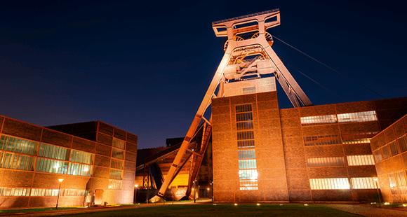 Bis 1986 wurde in der Zeche Zollverein Kohle gefördert, heute entstehen dort Ideen.