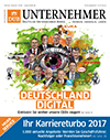 Bild von Cover des DUB UNTERNEHMER-Magazin Winter-Spezials 2016 WamS