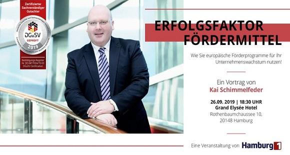 Hamburg 1 Fernsehen Veranstaltung Erfolgsfaktor Fördermittel