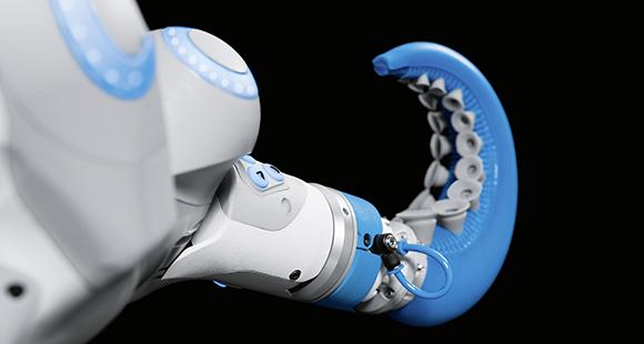 Der neue Bereich Soft Robotics steht für Bewegung ohne Programmierung