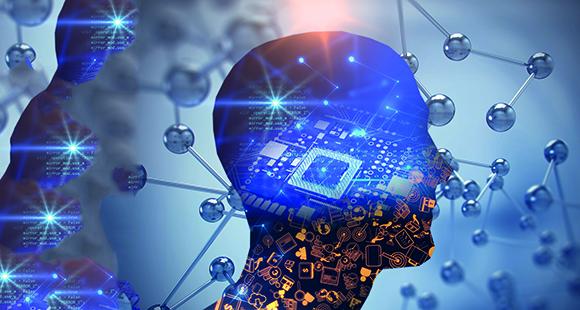 Das menschliche Hirn ist das Vorbild für die Entwicklung Künstlicher Intelligenz