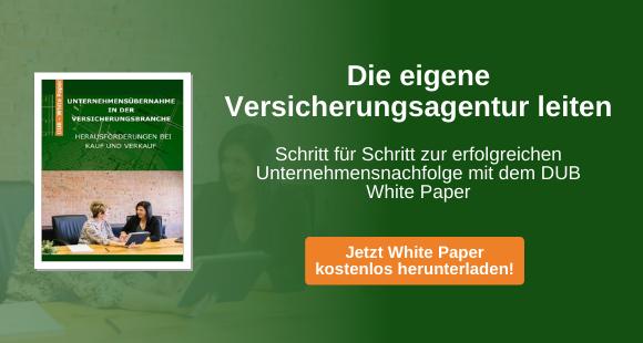 Kostenloses DUB White Paper: Versicherungsunternehmen kaufen