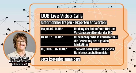DUB Video-Call mit Top-Experten