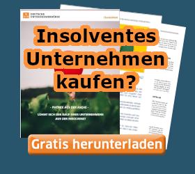Insolventes Unternehmen kaufen? Kostenloses Handbuch